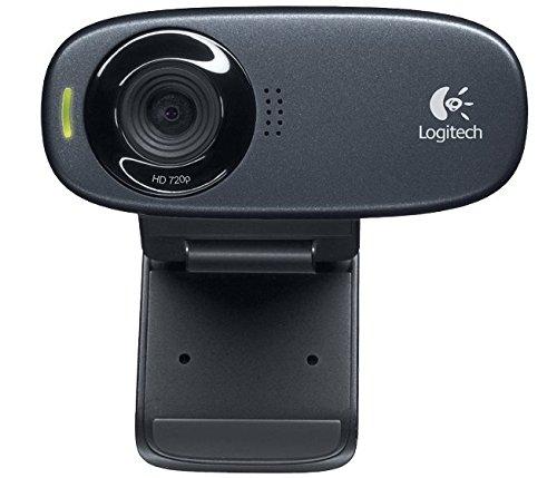 Logitech 960-001065 C310 HD Webcam schwarz