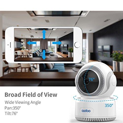 AOBO WiFi WLAN Kamera 1080P HD Nanny Kamera Babyphone IP