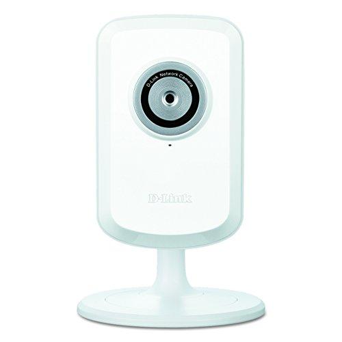D-Link DCS-930L Wireless N Internet-/Sicherheits-Kamera (bis zu 300 Mbit/s, Aufzeichnungen auch bei schwachem Licht, flexiblen Positionierung, mydlink-App für iOS/Android)