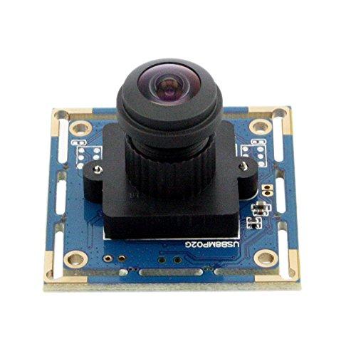 elp kamera modul usb 8mp weitwinkel fisheye webcam mit 180 grad objektiv 3 webcam guruwebcam. Black Bedroom Furniture Sets. Home Design Ideas