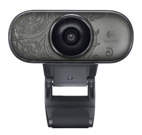 Logitech C210 Webcam schwarz