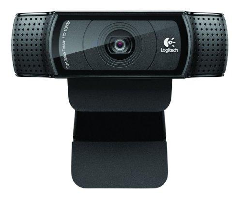 Logitech C920 1920 x 1080Pixel USB 2.0 Schwarz Webcam – Webcams (1920 x 1080 Pixel, 1080p,720p, H.264,M-JPEG, Windows 7 Home Basic,Windows 7 Home Basic x64,Windows 7 Home Premium,Windows 7 Home Premium…, USB 2.0, Schwarz)
