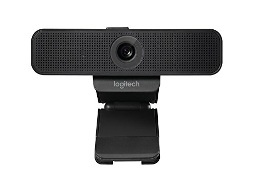 Logitech c925e Webcam (Business Produkt) mit HD 1080P Kamera und eingebaute Stereo-Mikrofone, Desktop oder Laptop Webcam