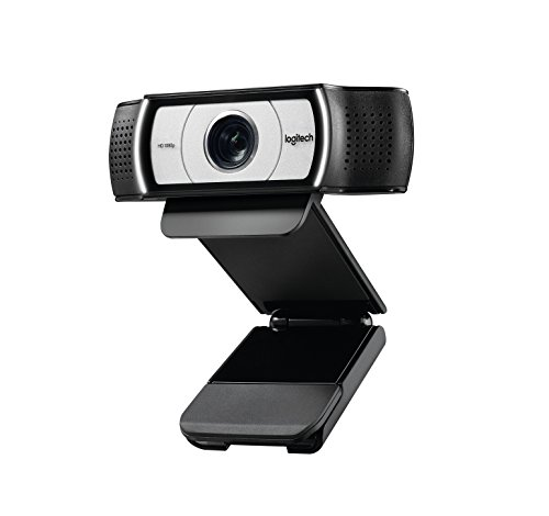 Logitech C930e–Webcams (1920x 1080Pixel, USB, schwarz, Clip)