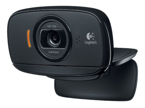 Logitech HD Webcam C525 Webcam, PC/Mac, Face Tracking