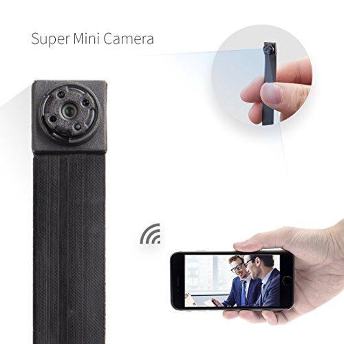 mini kamera fredi hd 1080p tragbare wlan netzwerk klein ip kamera mini kamera p2p drathlos mit. Black Bedroom Furniture Sets. Home Design Ideas