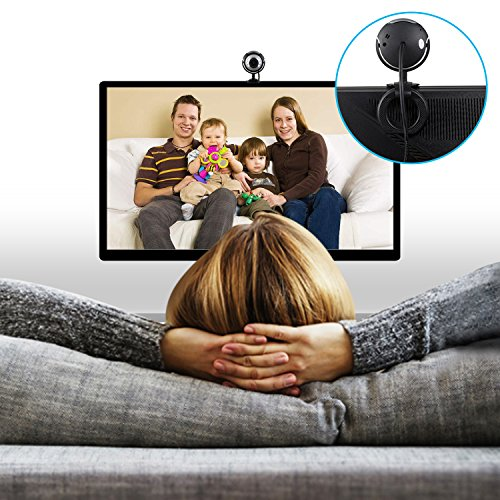 TeckNet C016 USB HD Webcam mit Integriertes Mikrofon, 6 ...
