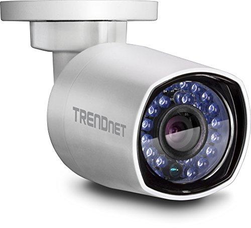 TRENDnet Indoor/Outdoor 4 Megapixel HD PoE Stiftgehäuse Tag/Nacht Netzwerk Kamera, Digital WDR, 2688 x 1520p, Smart IR, IP66 zertifiziertes Gehäuse, bis zu 30 Meter Nachtsicht, ONVIF, IPv6, TV-IP314PI