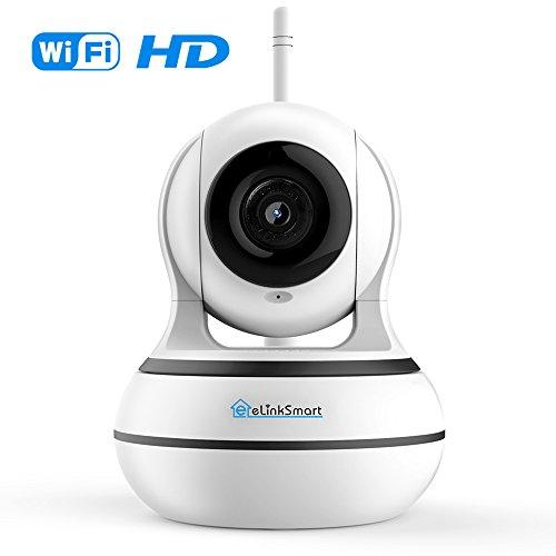 WiFi Kamera Drahtlose Überwachungskamera Pan Tilt Innen-kamera Video-Aufzeichnung eLinkSmart IP Kamera Videomonitor WebCam mit Zwei-Wege-Audio 960P HD Nachtsicht Bewegungserkennung