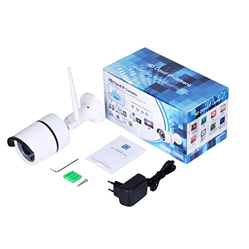 wlan ip outdoor kamera security camera 720p wifi. Black Bedroom Furniture Sets. Home Design Ideas