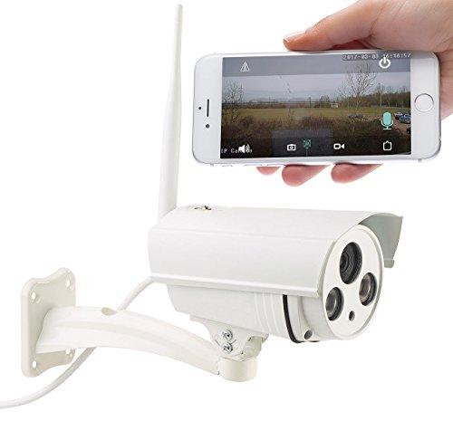 7links Outdoor Kamera: WLAN-IP-Überwachungskamera mit 720p HD, IR-Nachtsicht, SD-Recording (IP Cam Bewegungsmelder)
