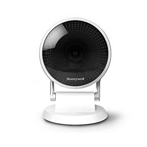 Honeywell HAWCIC2S Lyric C2 Wi-Fi Sicherheitskamera mit Bewegungsmelder, Mikrofon und intelligenter Geräuscherkennung, 1080P HD, 145 Grad Weitwinkel, Nachtsicht, Weiß